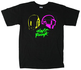 Daft Punk - Neon Heroes Shirts
