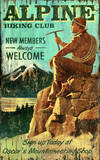 Hiking Rockies Vintage Wood Sign