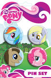 My Little Pony - Ponies Badge Pink Pack Badge