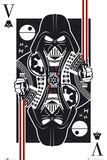 Star Wars Playing Card Posters