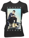 Juniors: Justin Bieber - Carside T-shirts