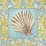Sea Spa Bath I Poster by Debbie DeWitt
