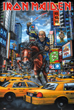Iron Maiden New York Poster