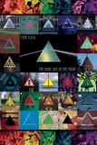 Pink Floyd DSOM Inversion Kunstdrucke