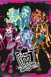 Monster High Monsters Prints