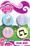 My Little Pony - Cute Mark Badge Pin Pack Badge