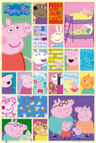 Peppa Pig Grid Prints
