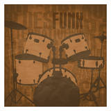 Funk Prints by Jr., Enrique Rodriguez