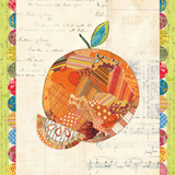 Fruit Collage IV - Orange Prints by Courtney Prahl