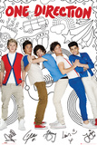 One Direction Comic Posters