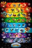 Skylander Giants Stats Affiches