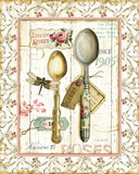 Rose Garden Utensils II Prints by Lisa Audit