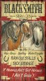 Horse Heaven Vintage Wood Sign