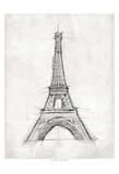 Eiffel Sketch Posters by  OnRei