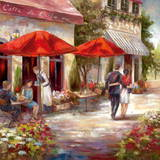 Caf&#233; Afternoon I Prints by Nan 