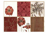 Placemats Poppy Posters by Carol Kemery