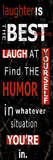 Laughter Is Affiches par Carole Stevens