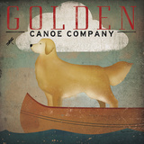 Golden Dog Canoe Co. Posters by Ryan Fowler