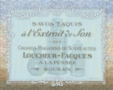 French Soap Label II Poster by Lynnea Washburn
