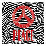 Peace Print by  OnRei