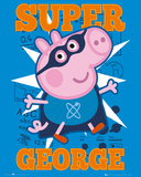 Peppa Pig Super George Prints