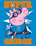 Peppa Pig Super George Posters