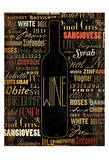 Wine Prints by Jace Grey
