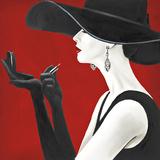 Haute Chapeau Rouge II Poster av Marco Fabiano