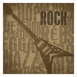 Rock Posters by Jr., Enrique Rodriguez