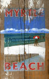 Lifeguard Vintage Wood Sign