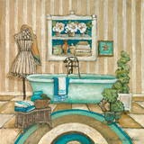 My Inspiration Bath II Posters by Charlene Olson
