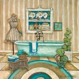 My Inspiration Bath II Posters by Charlene Winter Olson