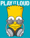 The Simpsons Play it Loud Kunstdrucke