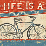 Beautiful Ride I Affiches par Pela Studio