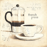 Parisian Coffee III Posters by Emily Adams