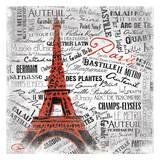 Eiffel Print by  OnRei