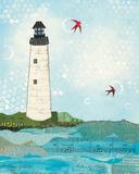 Coastal Notes II Prints by Courtney Prahl