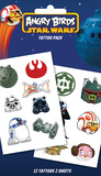 Angry Birds Star Wars Swoosh Temporary Tattoos