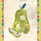 Fruit Collage III - Pear Posters by Courtney Prahl
