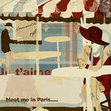Meet Me in Paris Art by Kyle Mosher