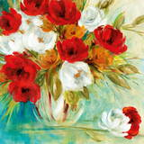 Vibrant Bouquet I Prints by Carol Robinson