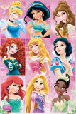 Disney Princess Grid Posters