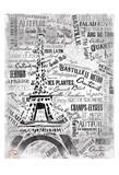 Eiffel Posters par  OnRei