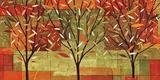 Veronique Charron - Watercolor Forest II - Sanat