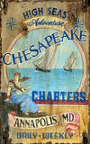 Chesapeake Vintage Wood Sign