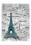 Eiffel Prints by  OnRei