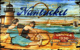 Nantucket Vintage Wood Sign