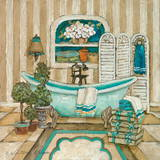 My Inspiration Bath I Prints by Charlene Winter Olson
