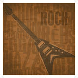 Rock Prints by Jr., Enrique Rodriguez