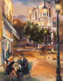 Twilight Time in Paris Poster by Marilyn Hageman
